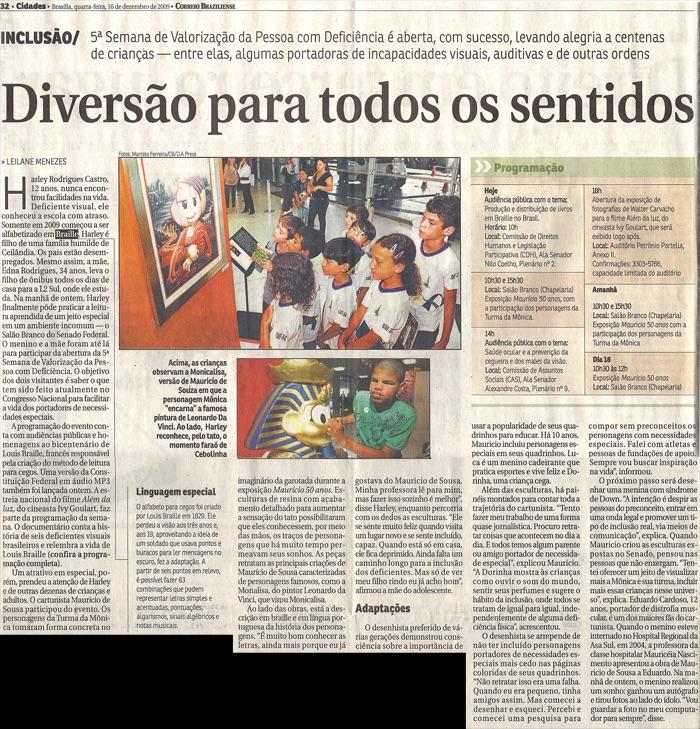 Correio Braziliense: Fun for all senses