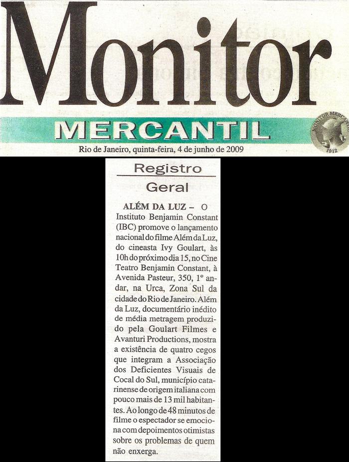 Monitor Mercantil: General Record