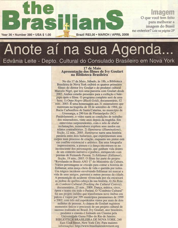 The Brasilians: Save the date on your calendar